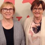 Leea Paija ja Helena Hiila-O'Brien